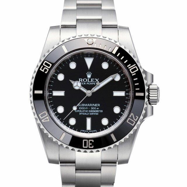 ロレックス ROLEX サブマリーナ メンズ 腕時計 ブラック 114060