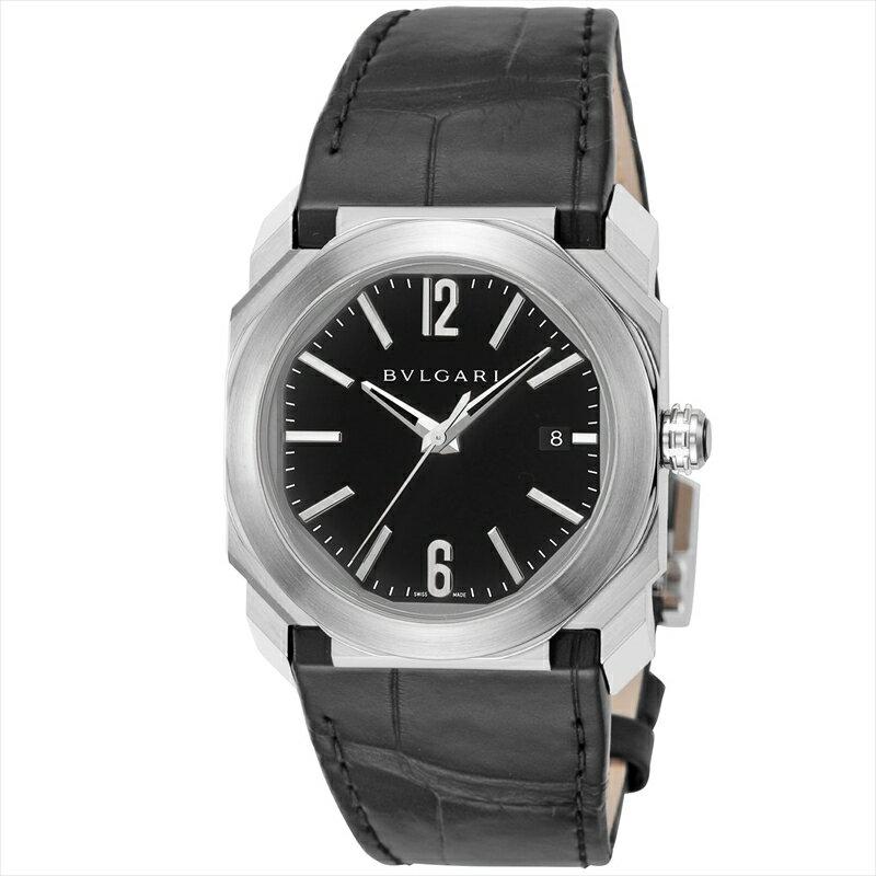 ブルガリ BVLGARI 腕時計 オクト BGO38BSLD ブラック