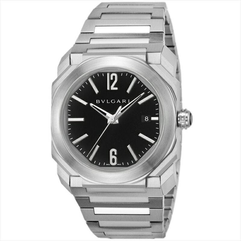 ブルガリ BVLGARI 腕時計 オクト BGO38BSSD ブラック