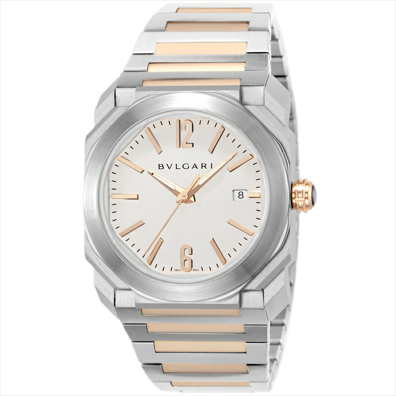 ブルガリ BVLGARI 腕時計 オクト BGO38WSPGD ホワイト
