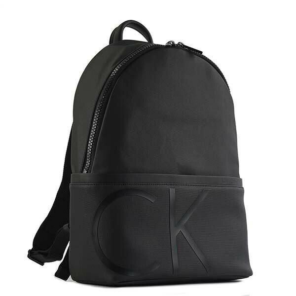 カルバンクライン CALVIN KLEIN バックパック RAISED LOGO BACKPACK K50K503690 BLACK