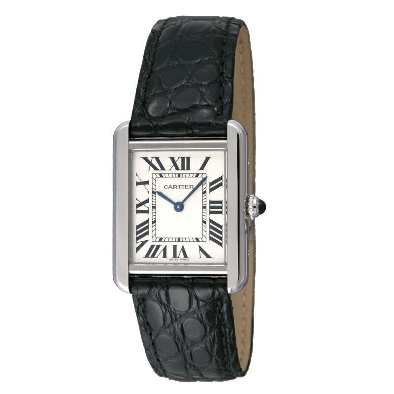 カルティエ Cartier 腕時計 タンクソロ W5200005 ホワイト