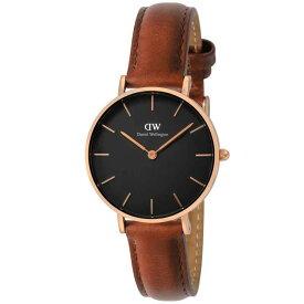 ダニエルウェリントン Daniel Wellington ユニセックス 腕時計 DW00100169 ClassicPetiteBlackStMawes ブラック
