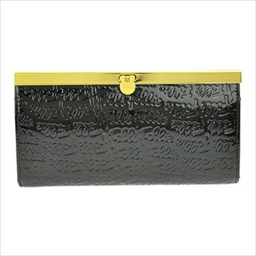 フォリフォリ Folli Follie 二つ折り長財布 WA0L028SK ブラック