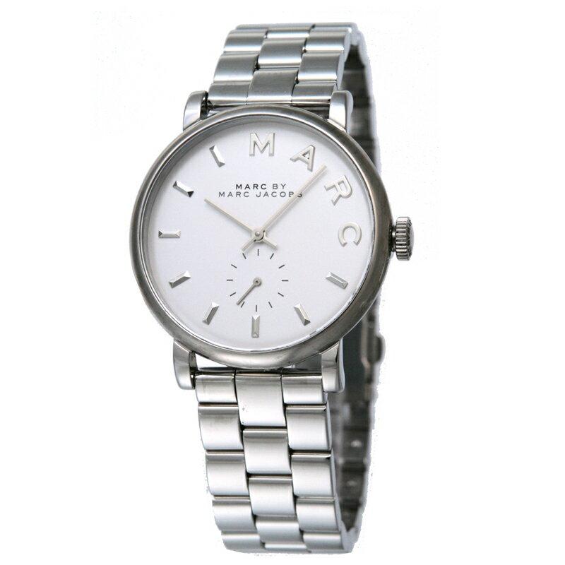 マークバイマークジェイコブス MARCBYMARCJACOBS レディス腕時計 Baker MBM3242 ホワイト