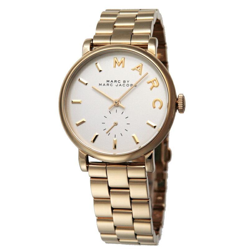 マークバイマークジェイコブス MARCBYMARCJACOBS レディス腕時計 Baker MBM3243 ホワイト