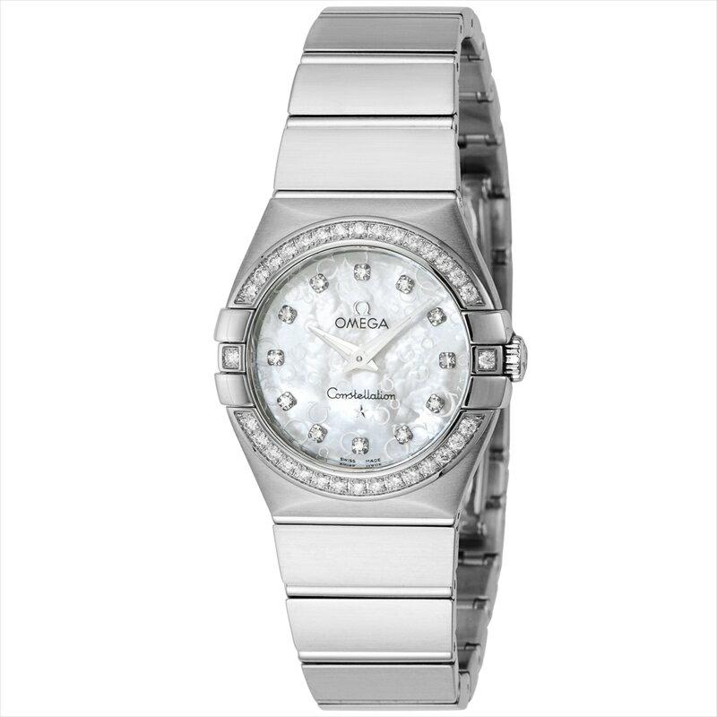 オメガ OMEGA 腕時計 コンステレーション レディース 123.15.27.60.55.005 ホワイトパール