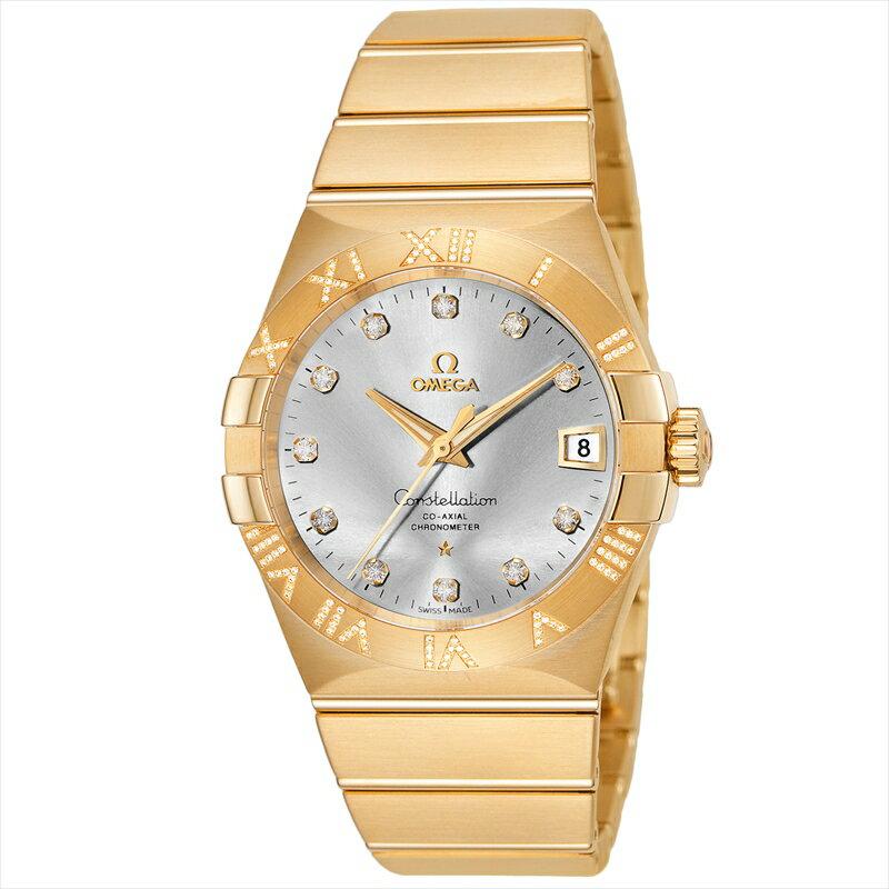 オメガ OMEGA 腕時計 コンステレーション メンズ 123.55.38.21.52.008 シルバー
