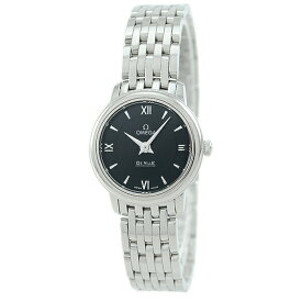 【店内全品送料無料〜3/11】オメガ OMEGA レディース 腕時計 デ・ビル ブラック 424.10.24.60.01.001