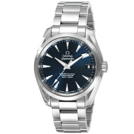 オメガ OMEGA メンズ 腕時計 シーマスターアクアテラ ブルー 231.10.39.21.03.002