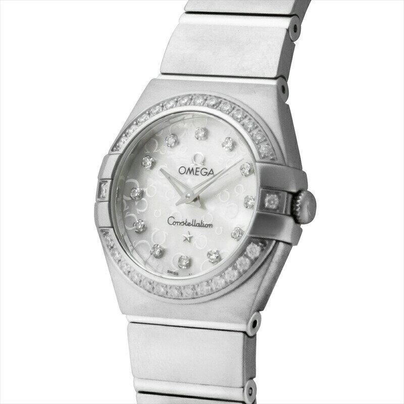 オメガ OMEGA 腕時計 コンステレーション レディース 123.15.24.60.55.005 ホワイトパール
