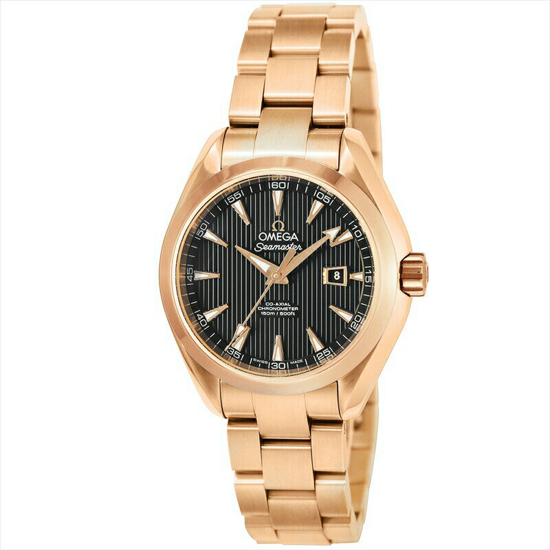 オメガ OMEGA 腕時計 シーマスターアクアテラ レディース 231.50.34.20.01.002 ブラック