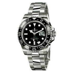 ロレックス ROLEX GMTマスター メンズ 腕時計 ブラック 116710