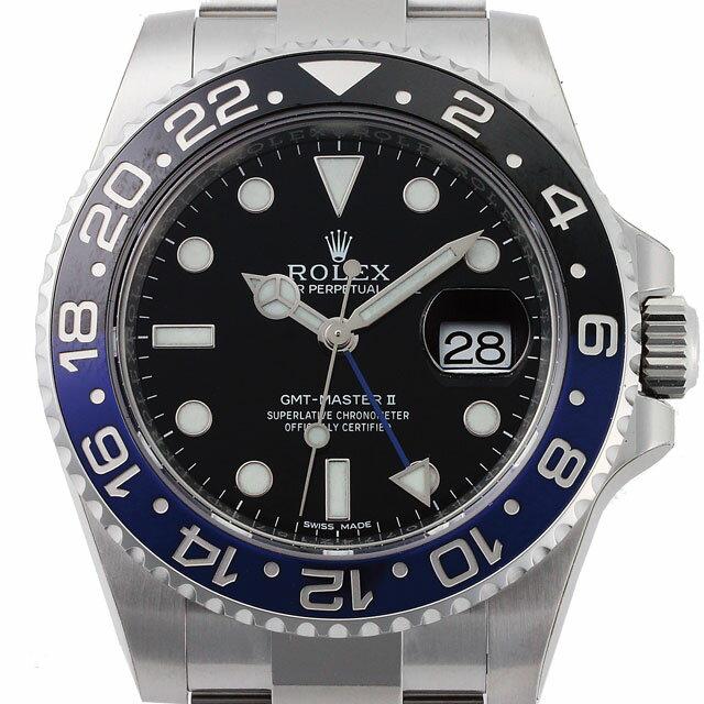 ロレックス ROLEX GMTマスター メンズ 腕時計 ブラック 116710BLNR