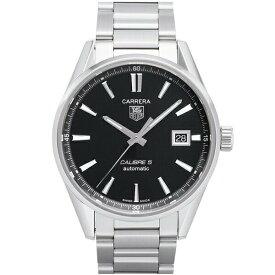タグホイヤー TAG Heuer 腕時計 カレラ キャリバー5 デイデイト ブラック WAR211A.BA0782