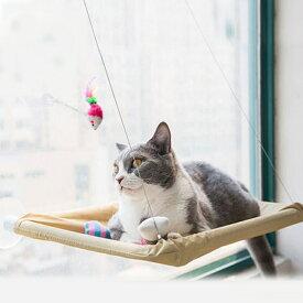 猫 ハンモック 吸盤式 吸盤 窓 窓用 窓際 ベッド マット 寝具 窓貼付け 日向ぼっこ 昼寝 日光浴 ストレス解消 取り付け簡単 耐重15kg