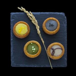 しゅんかしゅうとうkiki KOGASHIショコラ SHIZUKU 4個入り(抹茶・紫蘇・胡麻・柚子) チョコレート