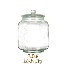 アンティーク クッキージャー【3L】調味料 キャンディー ストッカー キャニスター ガラス製 食品保存容器 インテリア キッチン