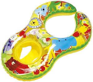 【イガラシ】親子 浮き輪(パンツタイプ)フルーツパラダイス