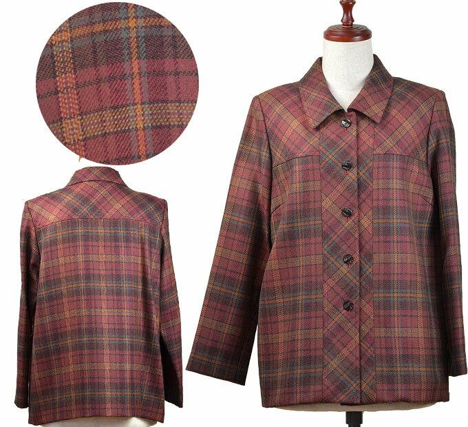 13号ウール100%ジャケット シニアファッション 冬 ミセス 中国製