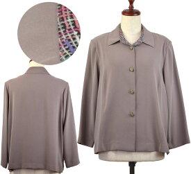 ジャケット15号 シニアファッション 春 ミセス 高齢者  シニア向け婦人服
