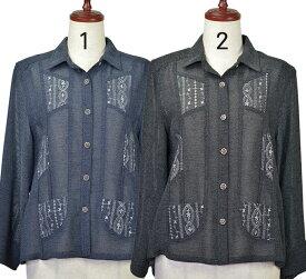 ジャケットL/LL シニアファッション 春 ミセス 間物 高齢者 シニア向け婦人服