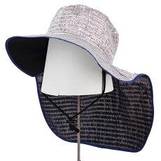 アルミ帽子日本製涼しいガーデニング園芸農作業遮光率80%カット軽い