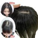 3D構造I型つむじ付き3点留め 人毛100% 3D かつら 人毛 部分ウィッグ 前髪ウィッグ ウィッグ 白髪隠し つけ毛 前髪 自…