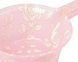 薔薇のアクリル手桶:スウィートピンクローズ【HLS_DU】