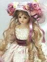 【送料無料】若月まり子 創作ビスクドール「ジュリエンティーヌ」若月まり子 フラワーフェアリー 妖精 人形 ビスクド…