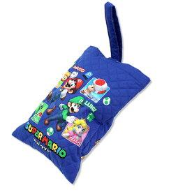 [ゆうパケット可]スーパーマリオ シューズバッグ キッズ 入園 入学 キャラクター グッズ スーパー ス-パ- SUPER キッズ kids Charactor キャラクタ マリオ MARIO バッグ バック