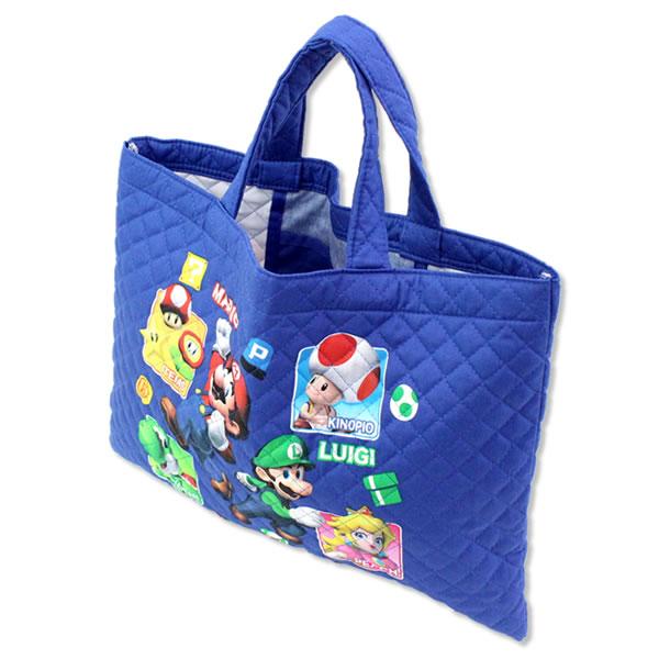 [ゆうパケット可]SUPER MARIO スーパーマリオ レッスンバッグ 入園・入学・新学期の準備に
