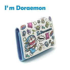 I'm Doraemon ドラえもん 三つ折り財布 ミニ財布 グッズ キッズ 三つ折りミニ財布 女の子 男の子 IDR-158