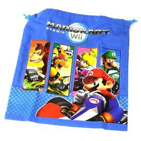 [ゆうパケット可] スーパーマリオ (SUPER MARIO) 巾着M キャラクター グッズ スーパー ス-パ- SUPER Charactor キャラクタ マリオ MARIO 巾着 きんちゃく キンチャク