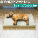 1年保証 ペット 床ずれ 防止 クッション ペット用 床ずれ防止マットレス Sサイズ 70 x 50 x 5cm 介護マット ケアマッ…