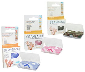 Sea Band Kids シーバンド子供用 (正規品)箱のない模造品が数多く出回っています。定形外郵便でのお届けになります。 送料無料 並行輸入品