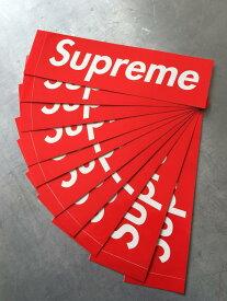Shupreme シュプリーム Box Logo ステッカー 正規品 10枚 サイズ 5.7cm X 19cm