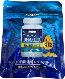 サントリー DHA & EPA + セサミンEX 120粒 新パッケージ