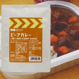 【送料無料】 レスキューフーズ ビーフカレー(180g) レトルトパック24食入 3年保存