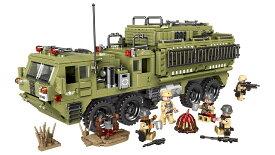 ブロック ミリタリーコーピオミサイル発射軍用トラック車 ブロック互換品 プレゼント 入学プレゼント 入学お祝い クリスマスプレゼント 知育玩具 おもちゃブロック
