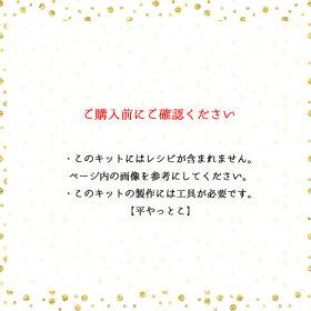 【ビーズアクセサリーのキット】デザイン丸カンのピアス(ゴールド)