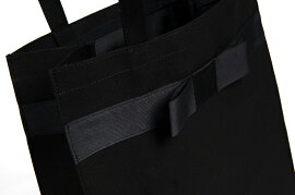 【お受験バッグ人気商品】【縦型】完全自立型グログランリボンサブバッグ【紺】【黒】お受験/面接/学校説明会/フォーマル【あす楽対応商品】【RCP】【05P30Nov14】