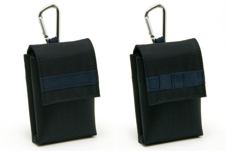 キッズケータイケース ナイロン製 ランドセル対応 紺無地 防犯ブザーケース 携帯電話ケース みまもり携帯ケース【あす楽】