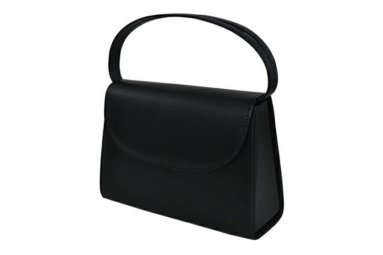 合成皮革製フォーマルハンドバッグ [8110]