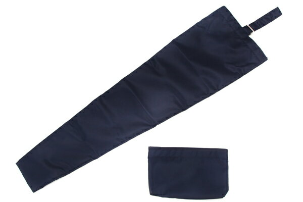 二本用傘袋【紺】 収納袋付き!折りたたみ傘にも対応!日本製【お受験用品の店●ハッピークローバー】【あす楽対応商品】