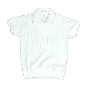 襟付半袖体操シャツ 100〜130サイズ お受験用 日本製【あす楽】