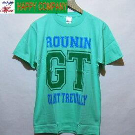 ROUNIN GT GiantTrevaiiy T-shirts  ロウニン ジャイアントトレバリー Tシャツアクアブルー