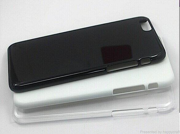 (ゆうパケットOK)iphoneX(テン) iphone5/5s iphone6/6plus iphone7/7plus ハードケース 白/黒/透明 4.7インチ 5.5インチ 5.8インチ ポリカーボネート ハッピークラフト/HAPPYCRAFT