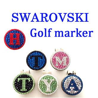 高爾夫標記剪輯與施華洛世奇初次選舉吃顏色球標記高爾夫球用品閃游標記剪輯高爾夫標記禮物高爾夫高爾夫產品 10P11Apr15