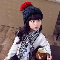 子供ニット帽子